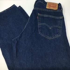 Levi's 550 Mens relaxed straight jeans 34x32